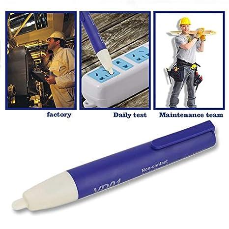 Detector de voltaje eléctrico digital Sin contacto 90~1000V ...