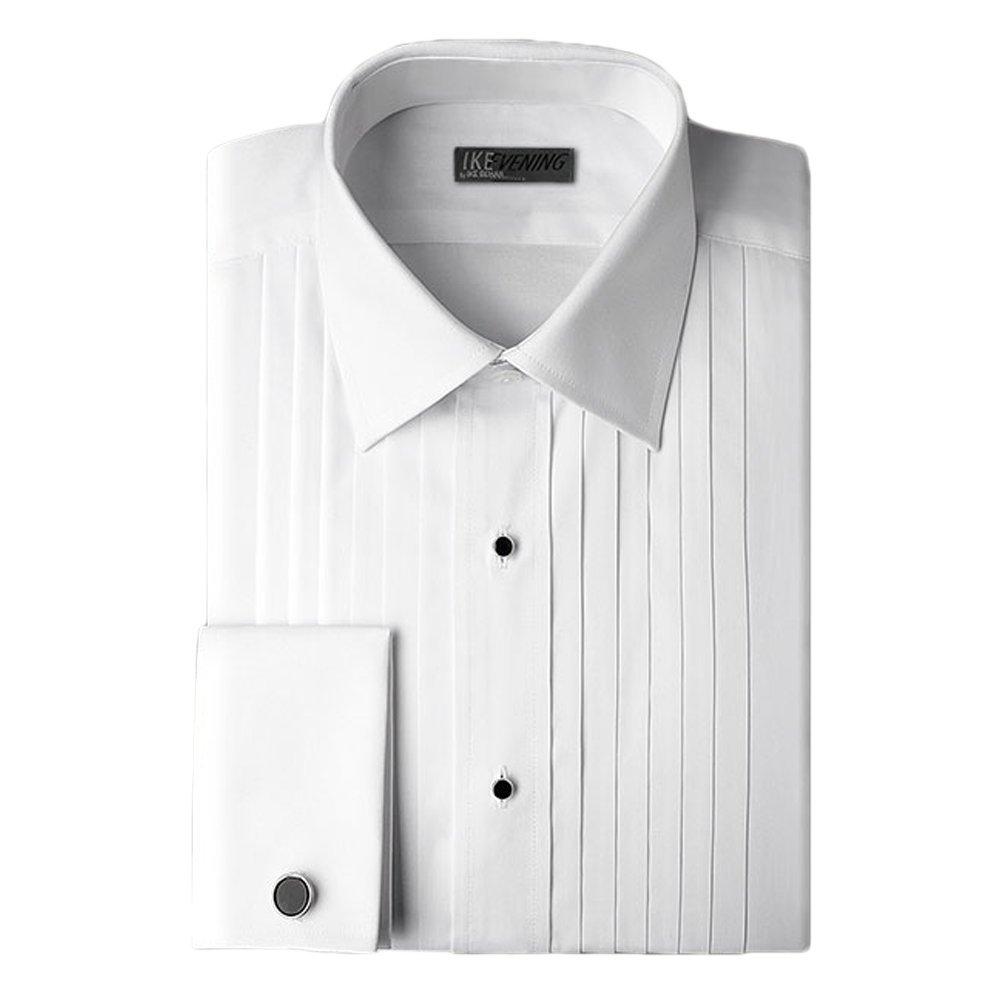 Ike Behar Tuxedo Shirt in White (15/32/33, White) by Ike Behar