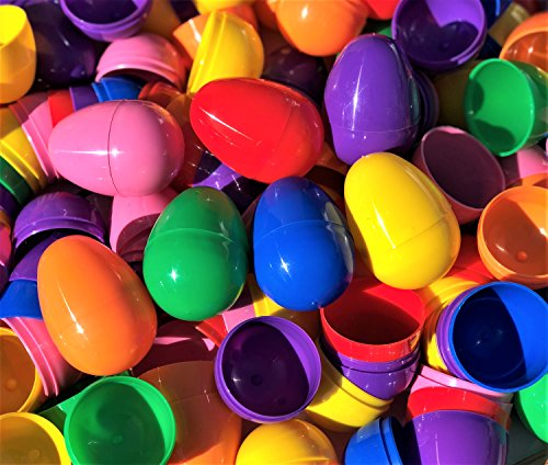 Plastic Easter Eggs Unfilled (1000 Count) ()