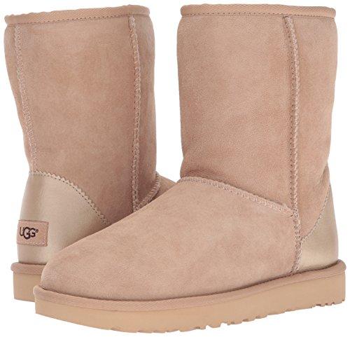 Ii Classic Flotté Ugg Bootss Short Metallic Bois IvIxwqd