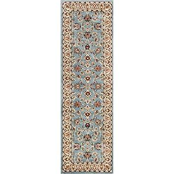 Amazon.com: Alfombra de zona tradicional Kashan con diseño ...