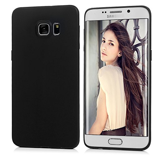 Slim Fit Protective Case for Samsung Galaxy S6 edge (Black) - 5