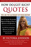 How Do I Get Rich Quotes, Victoria Johnson, 1492128201