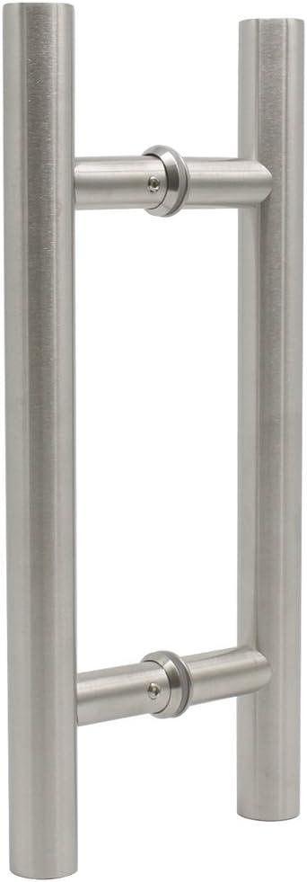 Probrico Poignée de grange en acier inoxydable 304pour porte coulissante en bois, à tirer, résistante à la rouille, matériel de porte