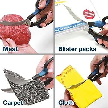 Smart Sizzors /'Cut Anything/' Multi-Purpose Home /& Garden Scissors