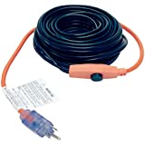 M-D Building Products 4341 12-Foot Pipe Heating Cable with Thermostat