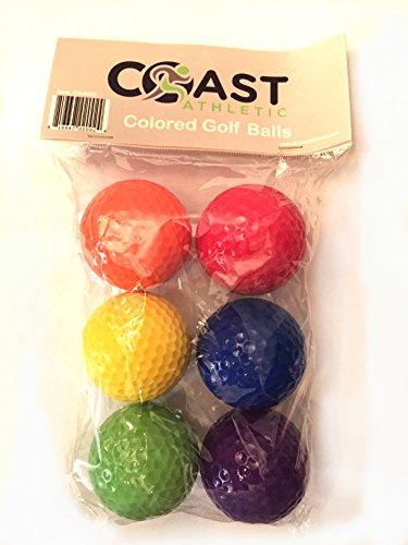 Miniature Golf Course (Coast Athletic Color Mini Golf Ball Set - 6 colorful golf)