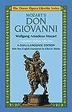 Don Giovanni (Dover Opera Libretto Series) (Italian and English Edition)