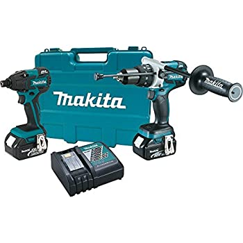 makita lxt211 18 volt lxt lithium ion cordless 2 piece combo kit power tool combo packs. Black Bedroom Furniture Sets. Home Design Ideas