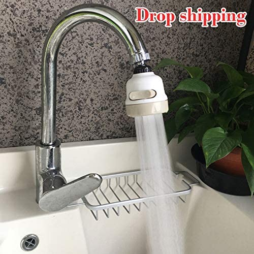 Color : Navy Blue N//A KUOLOUKEJI New Kitchen Shower Faucet Tap 3 Level Can Adjusting 360 Rotate Water Saving Bathroom Shower Faucet filtered Faucet Accessories