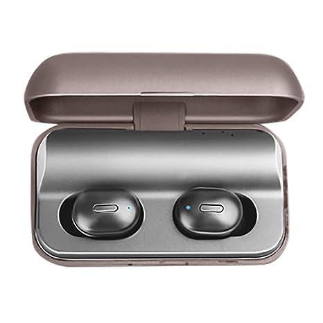 Wokee_ T1 Pro True HiFi Wireless BT 5.0 Headset - Auriculares ...