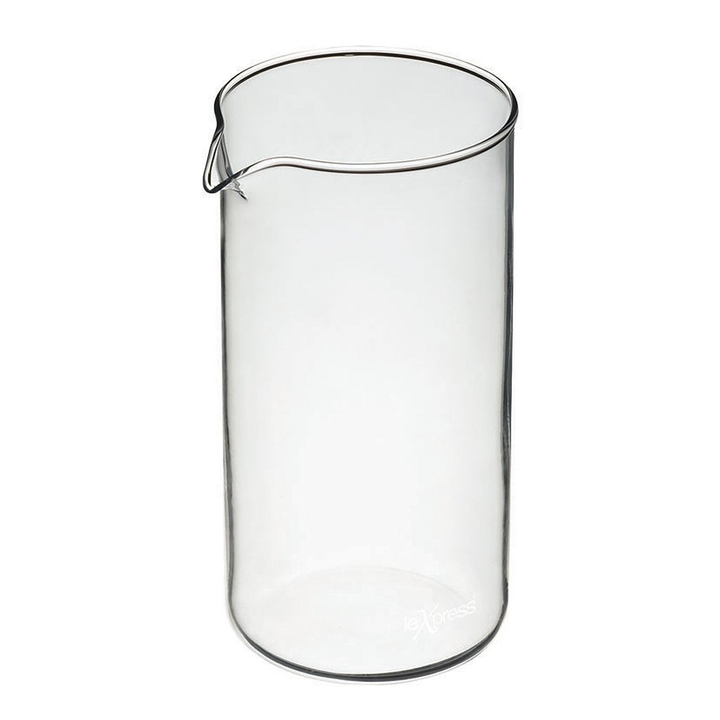 Kitchen Craft Le'Xpress 8-Cup Cafetière Replacement Glass Jug, 1 Litre (1.75 Pints) PY8CUP