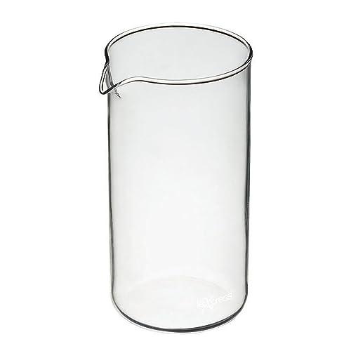 KitchenCraft Le'Xpress 3-Cup Cafetière Replacement Glass Jug, 350 ml (12 fl oz)