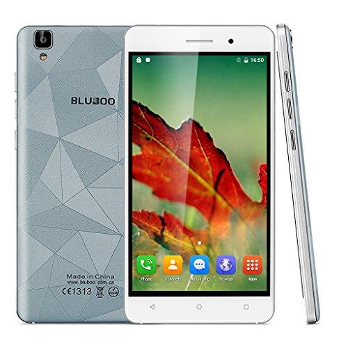 BLUBOO Maya 3G Android 6.0 Smartphone ohne Vertrag 5.5 Zoll Quad-Core 1.3GHz Dual SIM HD 1280*720 pixels 2G RAM 16G ROM 13.0MP 8.0MP Dual Kamera Handy 3000mAh Akku Gesture function GSM/WCDMA WIFI GPS