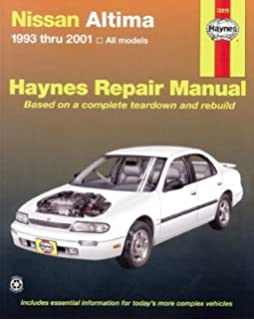 Nissan altima 2007 2012 repair manual haynes repair manual nissan altima 1993 thru 2006 haynes repair manual fandeluxe Gallery