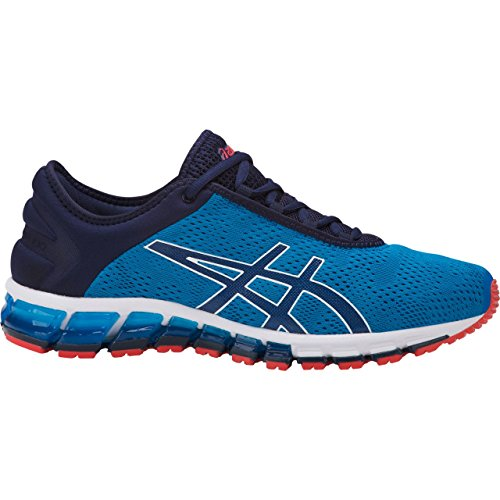 ASICS 1021A029 Men's Gel-Quantum 180 3 Running Shoe, Race Blue/Peacoat - 14