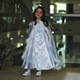 Angels Garment White Blue Embroidered Occasion Dress Toddler Girls 2T