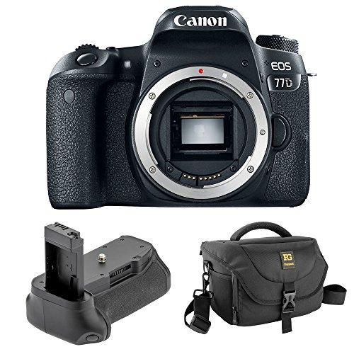Canon EOS 77D DSLR Camera  Vello BG-C15 Battery Grip Journey