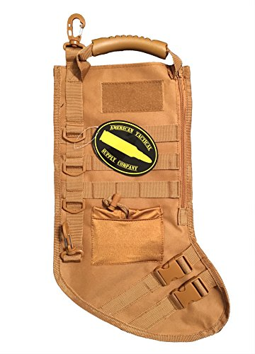 American Tactical Supply Co. Tactical Christmas Stocking (Desert Rust)