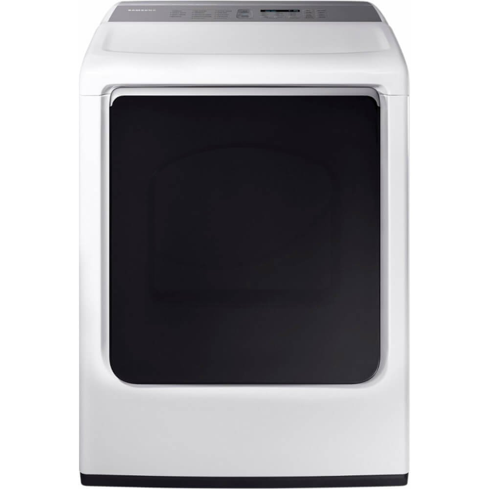 Samsung DVE54M8750W 7.4 Cu. Ft. White Electric Dryer with Steam DVE54M8750W/A3