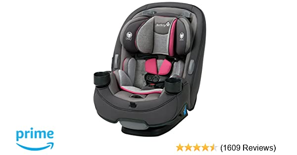 Safety 1st Grow and Go 3-in-1 Convertible Car Seat, Everest Pink
