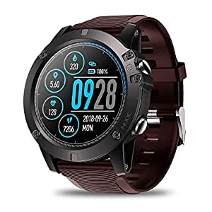 JIANGJIE Smart Watch Fitness Tracker IPS Pantalla táctil a Color con ...