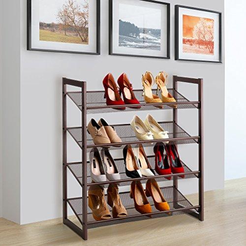 shoe rack bronze - 6