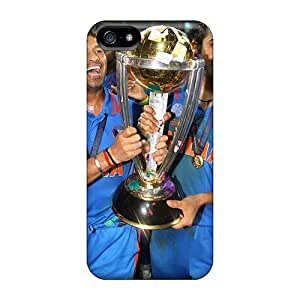 High-end Case Cover Protector For Iphone 5/5s(cricket Wc 2011)