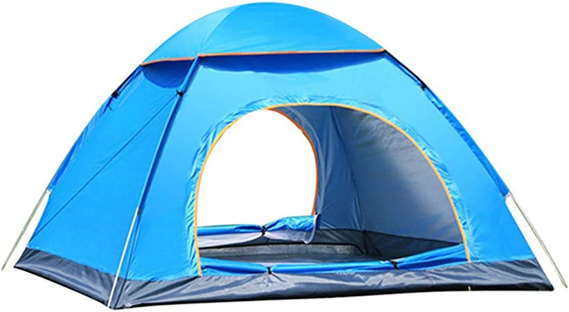 Details about  /Automatic Pop-up Tent 4 Person Outdoor Instant Waterproof Tent Hiking Camping