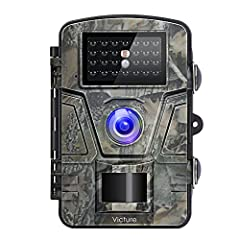 Victure Trail Camera can be used to find animals, record moving objects, or even monitor the security of offices, families and public.Why Should You Choose Victure Trail Camera 1. 12MP Photo and 1080P Video Solution 2. 0.5s trigger speed neve...