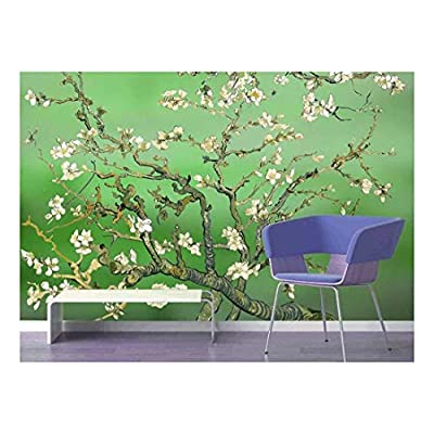 Green Almond Blossom by Vincent Van Gogh - Wall Mural, Removable Sticker, Home Decor - 66x96 inches