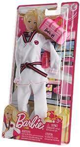 Mattel W3754 - Accesorios para Barbie karateka