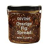 #2: DIVINA, Spread, Orange Fig, Pack of 12, Size 9 OZ - No Artificial Ingredients
