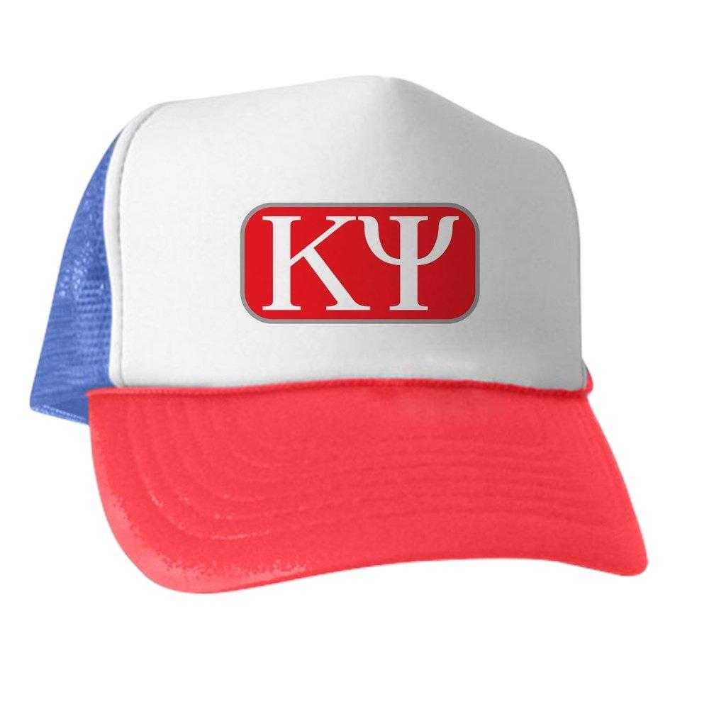 ed901ab916a Amazon.com  CafePress - Kappa Psi Letters - Trucker Hat