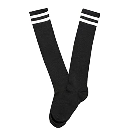 b7d326b0b Amazon.com: Women and Men Tube Sport Football Soccer Socks Over Knee ...