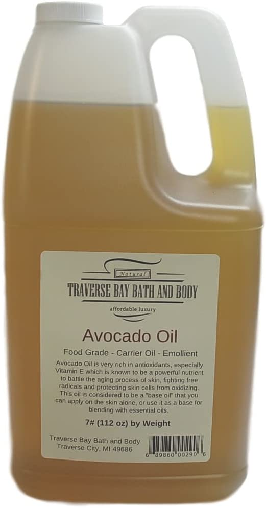 Avocado Oil Soap Making Supplies. Cold Pressed. 7 Pounds Gallon.
