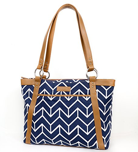 kailo-chic-casual-laptop-tote-navy-chevron-arrows