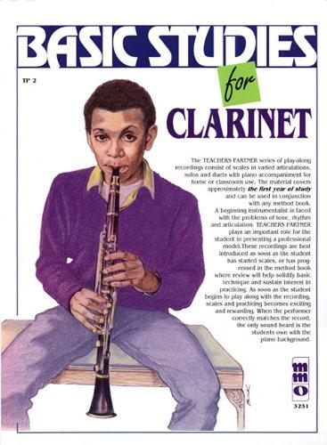 Download Basic Studies for Clarinet: Teacher's Partner pdf