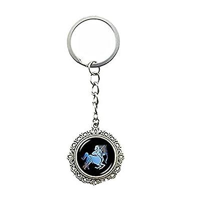 Sagitario clave cadena anillo llavero colgante de Sagitario ...