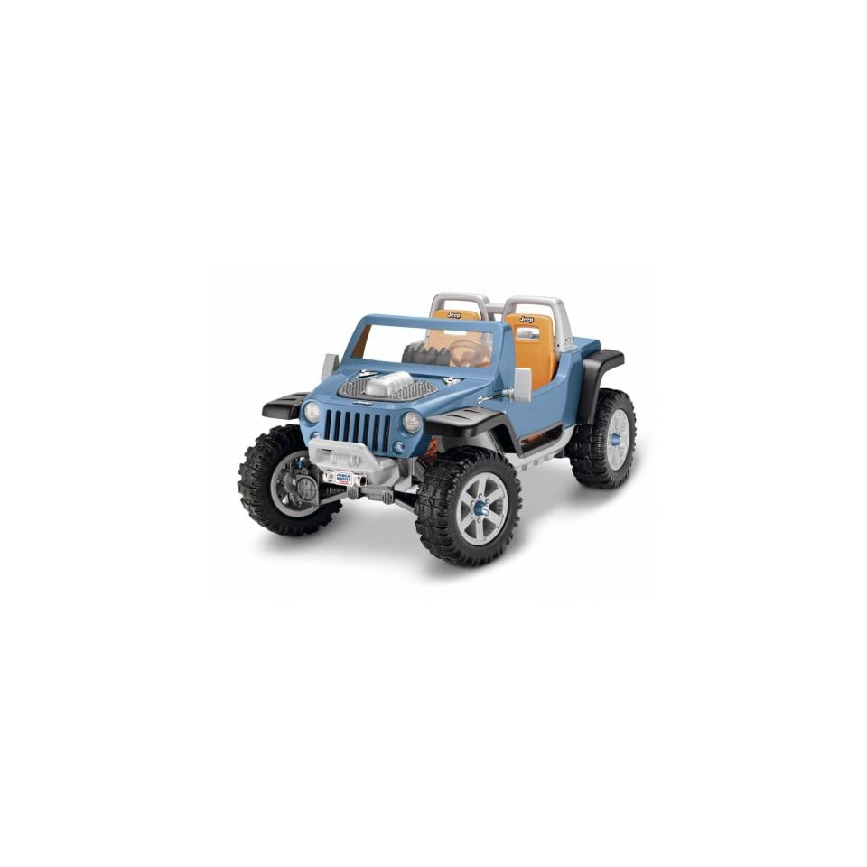 Fisher Price Power Wheels Ultimate Terrain Traction Jeep Hurricane
