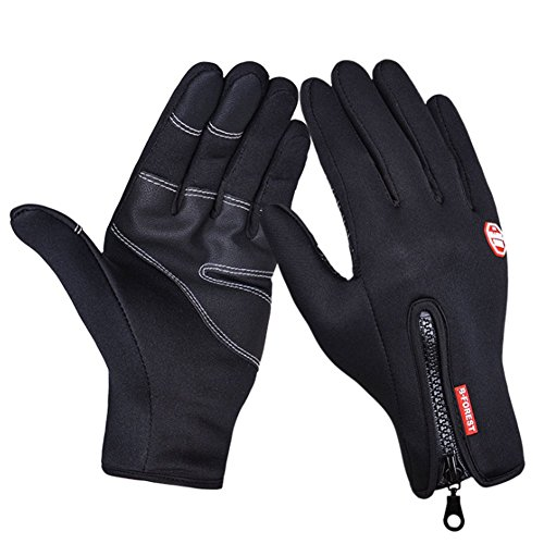 O-C Unisex outdoor sports windproof cycling ski warm touch screen golves XL - Colorado Area Denver Shopping In