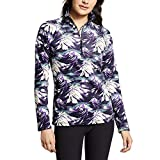 Product review for Eddie Bauer Women's Quest 1/4-Zip - Printed