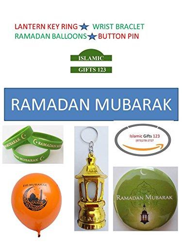 Ramadan decoration- 86 Pieces Mix Novelty Toys-Ramadan Mubarak Party Favorsرمضان كر Ramadan Kareem Gifts Lantern-Balloons-Hilal ☪☪☪☪ RAMADAN Quran for Muslim Islamic Gifts 123 WHOLESALE ☪☪☪☪☪☪☪☪☪ 123 Lantern Light