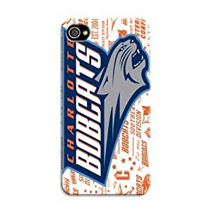 Create Your Own Case For Sumsung Galaxy S4 I9500 Cover CaNba Charlotte Bobcats Basketball With Pretty