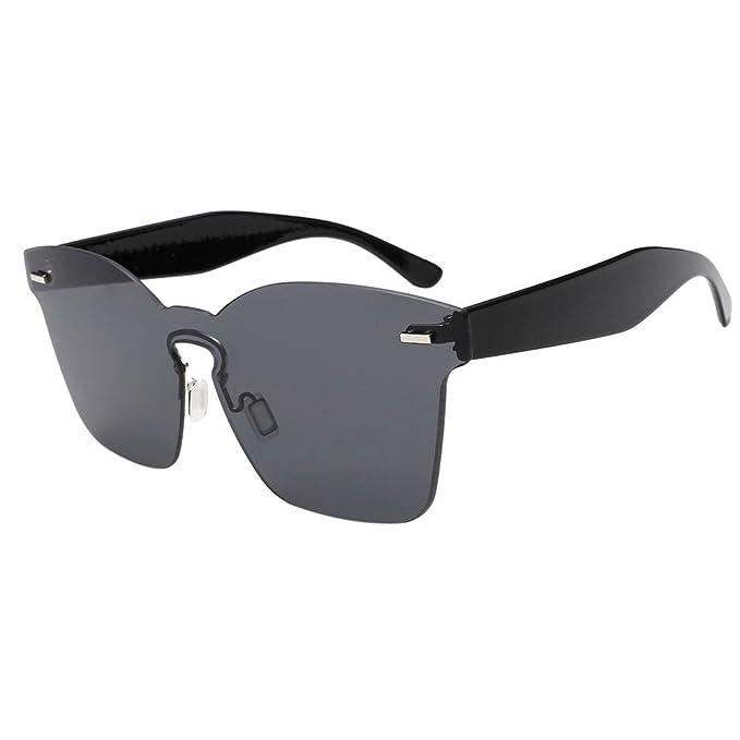 polarizadas para Mujeres Hombres Verano Plaza Gafas Unisex Sombras Acetato Marco Gafas UV Gafas de Sol