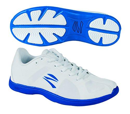 Zephz Stratoscheer Cheerleading Shoe WHT/BLUE Hl7agAsTOt