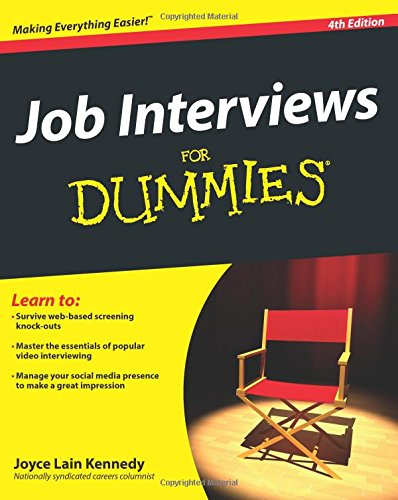 Interviews Dummies Joyce Lain Kennedy product image
