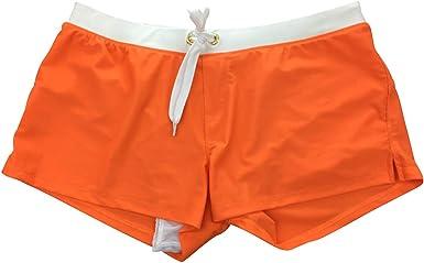 Tookang Uomo Swim Shorts Calzoncini Pantaloncini da Bagno Mare Nuoto Beachshorts Surfshorts Costume da Bagno Boxershorts Fiamma Watershorts