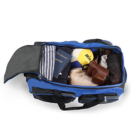 Fila 26'' Lightweight Rolling Duffel Bag, Blue, One Size by Fila (Image #3)