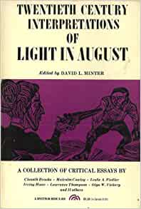 new essays on light in august